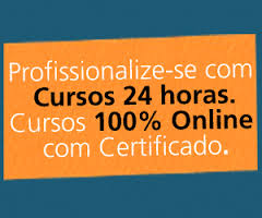 Cursos on-line 24 hors com certificado